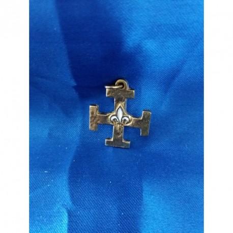 Croix scout émaillée