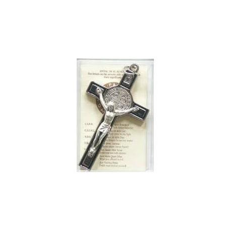 Crucifix de Saint Benoît émaillé