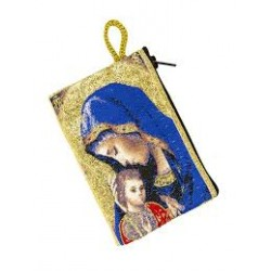 Porte-monnaie Vierge et enfant
