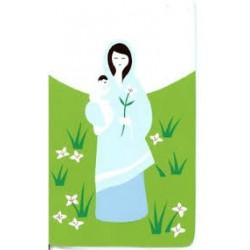 Cadre en bois Marie et Jésus