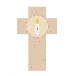 Croix enfant en bois