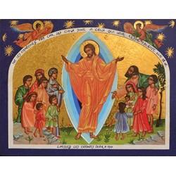 Jésus parmi les enfants